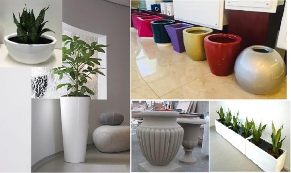 Fiberglass Flower pots